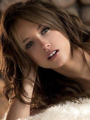 Malena Morgan plays a song of sweetness